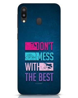 Shop Don't Mess With The Best Samsung Galaxy M20 Mobile Cover (DL)-Front