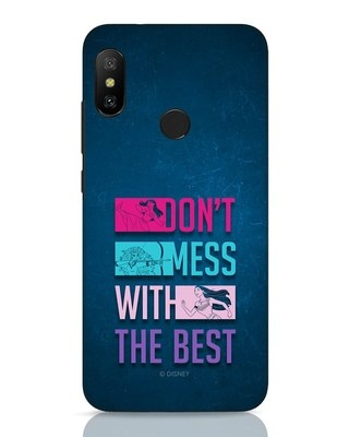 Shop Don't Mess With The Best Xiaomi Redmi 6 Pro Mobile Cover (DL)-Front