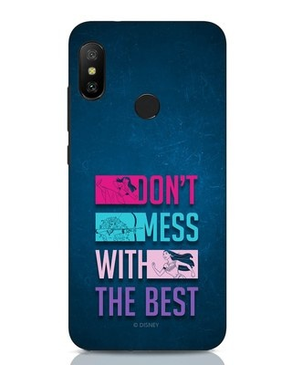 Shop Don't Mess With The Best Xiaomi Redmi Note 6 Pro Mobile Cover (DL)-Front