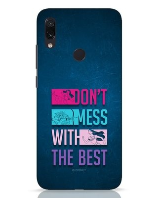Shop Don't Mess With The Best Xiaomi Redmi Note 7 Pro Mobile Cover (DL)-Front