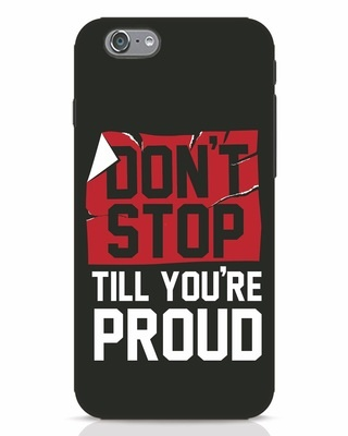 Shop Don't Stop iPhone 6 Mobile Cover-Front