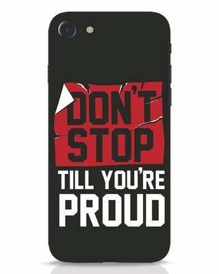 Shop Don't Stop iPhone 8 Mobile Cover-Front