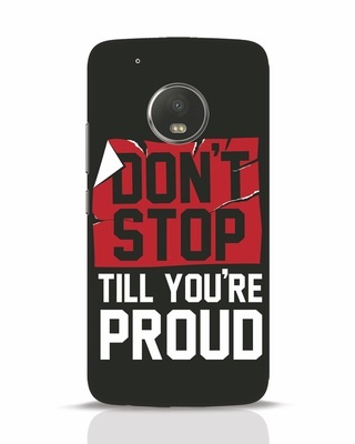 Shop Don't Stop Moto G5 Plus Mobile Cover-Front