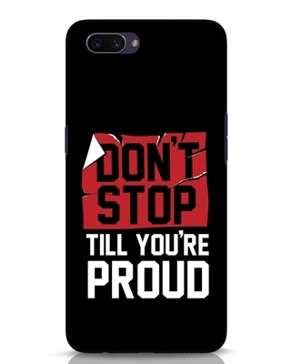 Shop Don't Stop Oppo A3S Mobile Cover-Front