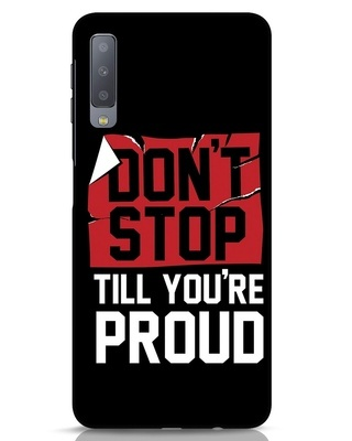 Shop Don't Stop Samsung Galaxy A7 Mobile Cover-Front
