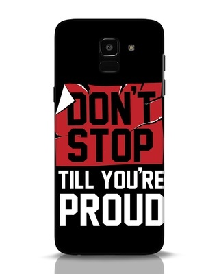 Shop Don't Stop Samsung Galaxy J6 Mobile Cover-Front