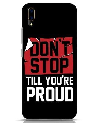 Shop Don't Stop Vivo V11 Pro Mobile Cover-Front