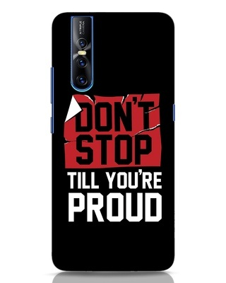 Shop Don't Stop Vivo V15 Pro Mobile Cover-Front