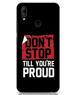 Shop Don't Stop Vivo Y91 Mobile Cover-Front
