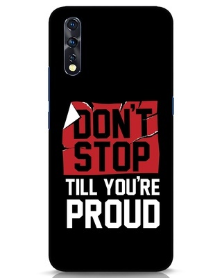 Shop Don't Stop Vivo Z1x Mobile Cover-Front