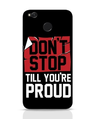Shop Don't Stop Xiaomi Redmi 4 Mobile Cover-Front
