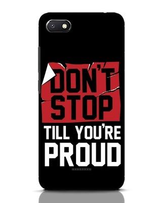 Shop Don't Stop Xiaomi Redmi 6A Mobile Cover-Front