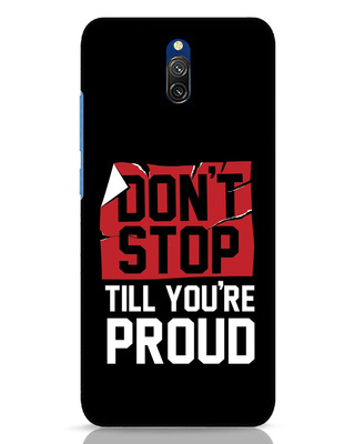 Shop Don't Stop Xiaomi Redmi 8A Dual Mobile Cover-Front