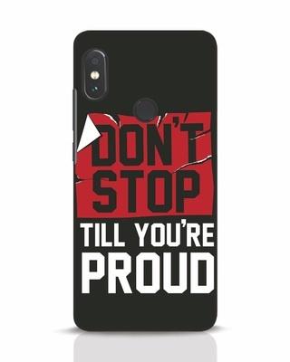 Shop Don't Stop Xiaomi Redmi Note 5 Pro Mobile Cover-Front