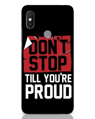 Shop Don't Stop Xiaomi Redmi Y2 Mobile Cover-Front