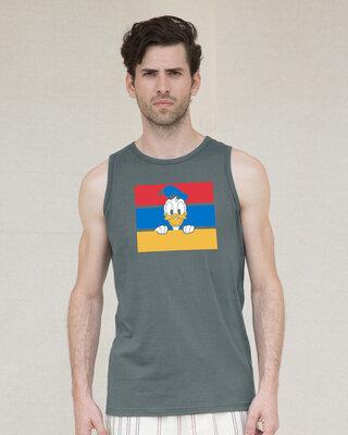 Shop Donald Block Vest (DL)-Front