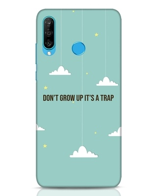 Shop Dont Grow Up Huawei P30 Lite Mobile Cover-Front