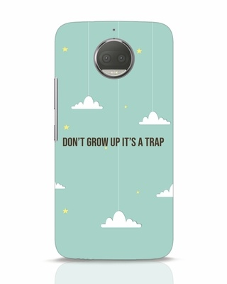 Shop Dont Grow Up Moto G5s Plus Mobile Cover-Front