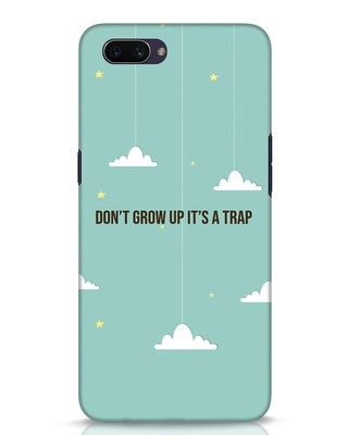 Shop Dont Grow Up Oppo A3S Mobile Cover-Front