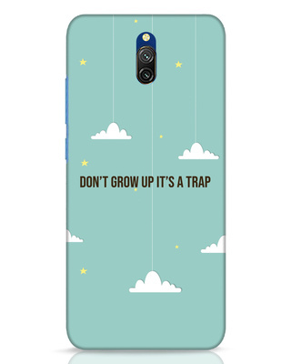 Shop Dont Grow Up Xiaomi Redmi 8A Dual Mobile Cover-Front