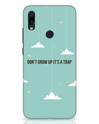 Shop Dont Grow Up Xiaomi Redmi Note 7 Pro Mobile Cover-Front