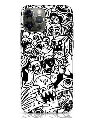 Shop Doodle Monsters iPhone 12 Pro Max Mobile Cover-Front