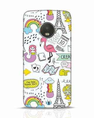 Shop Doodle Moto G5 Plus Mobile Cover-Front