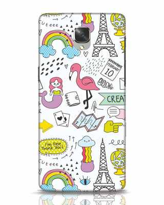 Shop Doodle OnePlus 3 Mobile Cover-Front