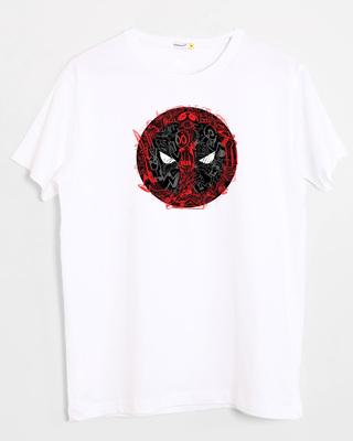 Shop Doodle Pool  Half Sleeve T-Shirt White (DPL)-Front