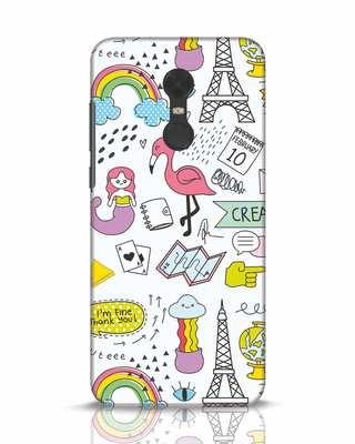 Shop Doodle Xiaomi Redmi Note 5 Mobile Cover-Front