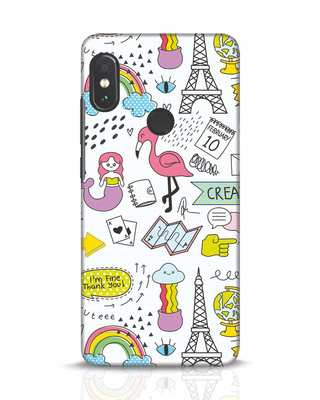 Shop Doodle Xiaomi Redmi Note 5 Pro Mobile Cover-Front
