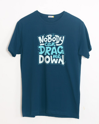 Buy Drag Me Down Half Sleeve T-Shirt Online India @ Bewakoof.com