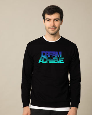 Shop Dream & Achieve Gradient Fleece Sweater-Front