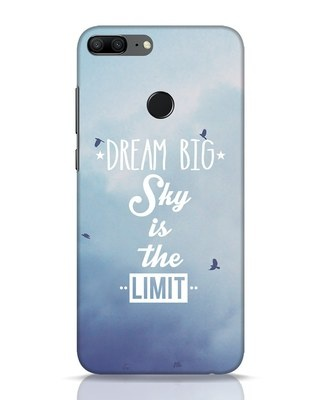 Shop Dream Big Huawei Honor 9 Lite Mobile Cover-Front