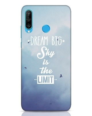 Shop Dream Big Huawei P30 Lite Mobile Cover-Front