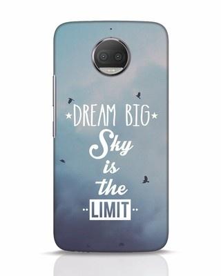 Shop Dream Big Moto G5s Plus Mobile Cover-Front