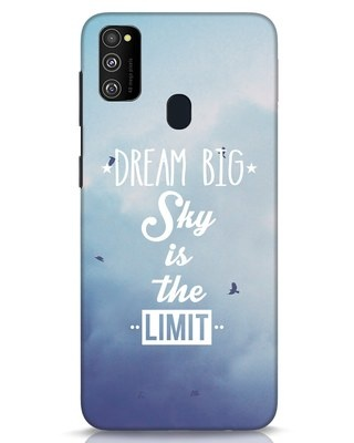 Shop Dream Big Samsung Galaxy M30s Mobile Cover-Front