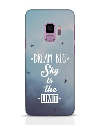 Shop Dream Big Samsung Galaxy S9 Mobile Cover-Front
