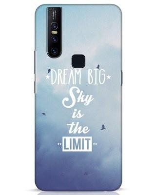 Shop Dream Big Vivo V15 Mobile Cover-Front