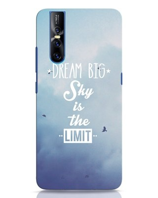 Shop Dream Big Vivo V15 Pro Mobile Cover-Front