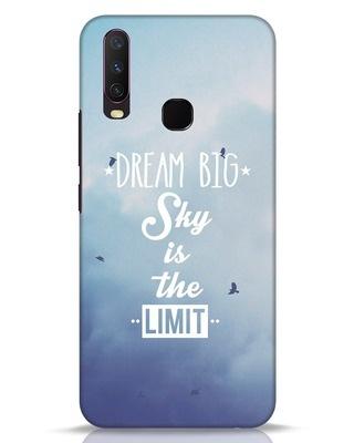 Shop Dream Big Vivo Y17 Mobile Cover-Front