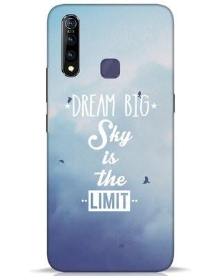 Shop Dream Big Vivo Z1 Pro Mobile Cover-Front