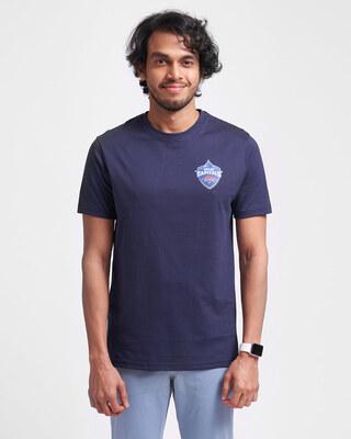 Shop Official DC: Dhawan Fan Jersey (Dark Blue)-Front