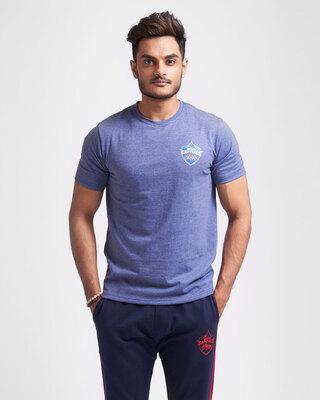 Shop Official DC: Shreyas Fan Jersey (Blue)-Front