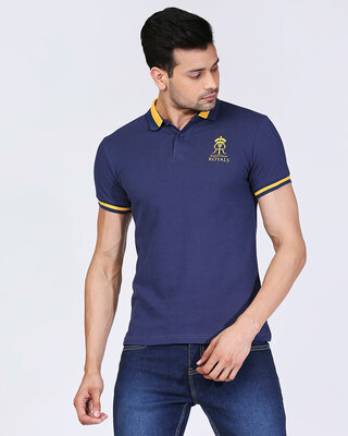 Shop Official RR: Royal Fan Polo (Blue)-Front