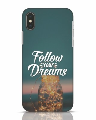 Shop Dreams To Be Followed iPhone X Mobile Cover-Front