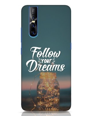 Shop Dreams To Be Followed Vivo V15 Pro Mobile Cover-Front