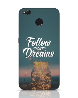 Shop Dreams To Be Followed Xiaomi Redmi 4 Mobile Cover-Front