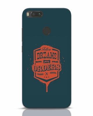 Shop Dreamsnotorders Xiaomi Mi A1 Mobile Cover-Front