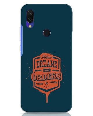 Shop Dreamsnotorders Xiaomi Redmi 7 Mobile Cover-Front